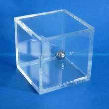 Clear Square Acrylic Display Box, Lucite Storage Boxes, Plexiglass Gift Display Cube