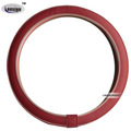 New Korean Hand Sewing Leather Steering Wheel Cover