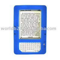Rubber Silicon case cover for kindle 2 / Kindle dx