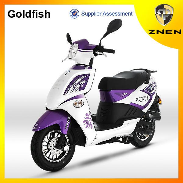 2017 ZNEN EEC SCOOTER 50CC 125CC 150CC GAS SCOOTER GOLDFISH