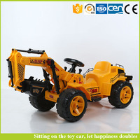 Electric Children Toy Car for Kids to Drive Ride on Car Toy Excavator