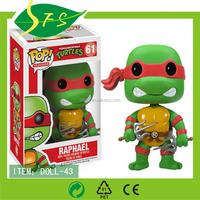 Low MOQ movie teenage mutant ninja turtles plush stuffed toys