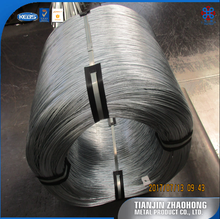 China Factory low price high quality hot dipped galvanized Iron Wire , electric fence wire, alambre galvanizado