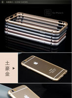 Aluminum Bumper Case For Iphone 6,Cell Phone Aluminum Metal Bumper