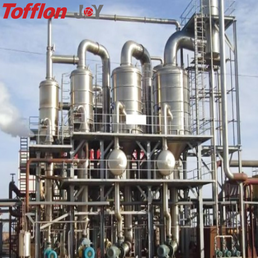 Multi-functional forced circulation evaporator