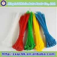 ZX auto parts good quality cable tie nylon/PA 66 nylon cable tie/all size cable tie