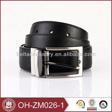 western style belt for men with needlepoint buckle belt top grain genuine leather belts