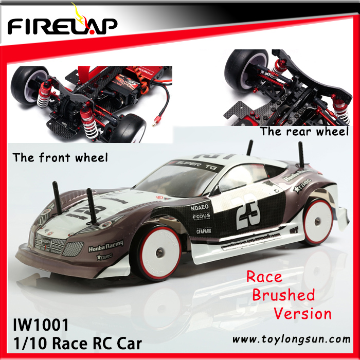 IW1001 ABS plastic rc car brushless/brushed motor rc car in radio control toy & rc car 1/10 electric