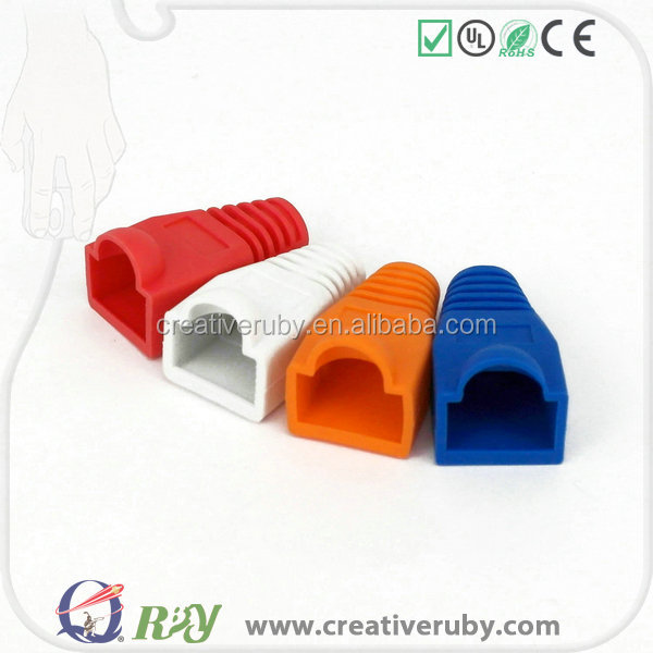 Superior Telecommuncations products!!!RJ45 connectors boots Fits all standard RJ-45 modular plugs Male connectors boots