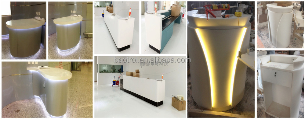 Reception Countertop Materials : ... Reception Desk - Buy Salon Reception Desk,White Reception Desk,Modern