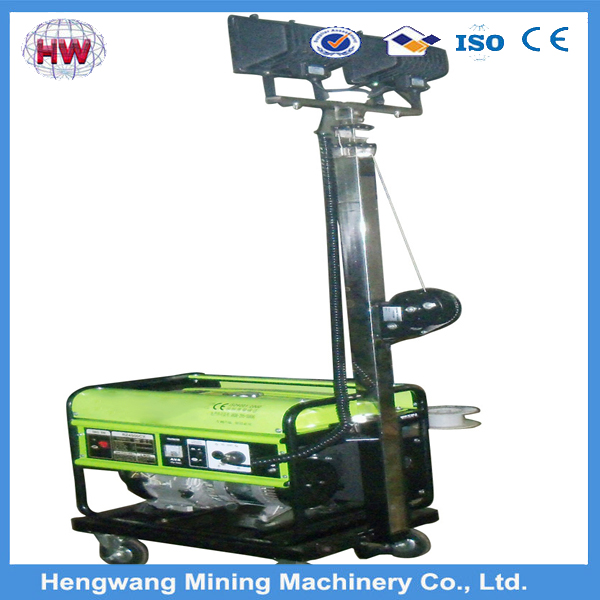 5000W Gasoline power hand lifting tower warning light price