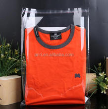 28cm*38cm*50mic High Quality T-shirt Packaging Clothing Plastic Shopping Bags Resealable Bags Wholesale