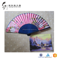 White Wood Hand Fans Wholesale