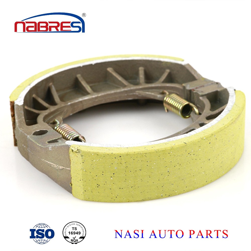 China professional motorcycle parts OEM high quality motorcycle brake shoe