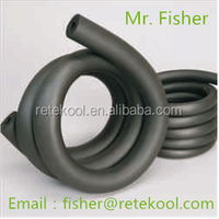 Flexible elastic rubber insulation tube