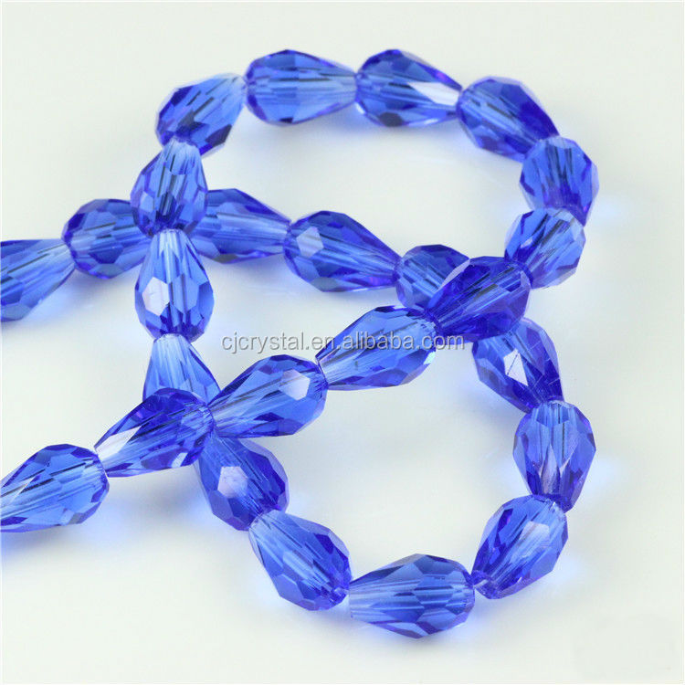 2016 Cheap Crystal drop shape Beads