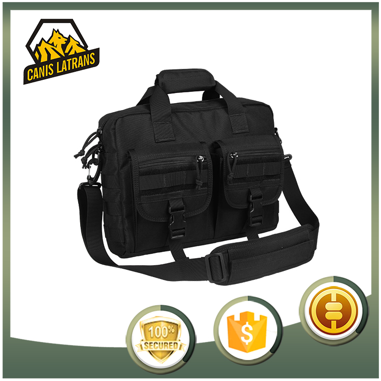 High Quality Waterproof fabric black tactical <strong>laptop</strong> military backpack frame