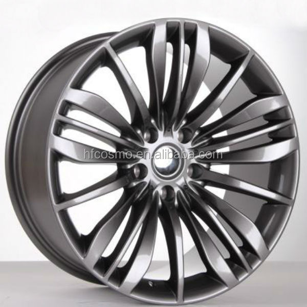 Auto alloy wheel for car parts