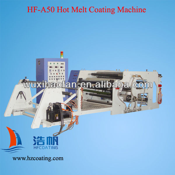 Bopp Film Hotmelt Coating Machine