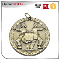 Cheap wholesale custom logo made metal award sport medal