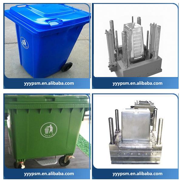 Outdoor Waste Bins Plastic Dustbin With Wheels Outdoor