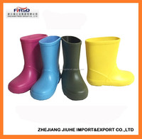 Cute and Lovely Cheap PVC Rain Boots for Kids and Children
