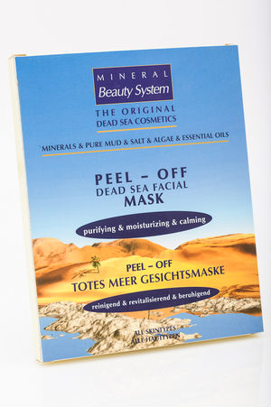 Peel Off Face Mask 30g with dead sea minerals