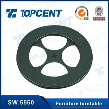 Furniture assembling fittings lazy susan swivel plate for table