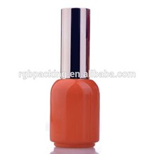 2015 new product special design large empty glass bottle color gel nail polish