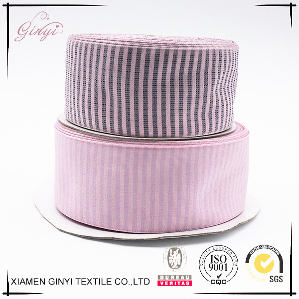 Top sale colorful cheap 3 inch custom printed grosgrain ribbon