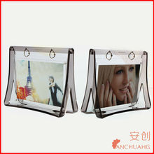 square acrylic photo frame_acrylic vase with photo frame
