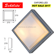 OXFORD IP65 20W 270mm square shape outdoor LED ceiling light