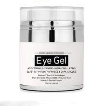 Private Label Effective Anti Aging Eye Gel for Dark Circles, Puffiness, Wrinkles and Bags