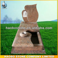 Italian granite monument multicolor red