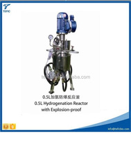 0.5L hydrogenation reactor with explosion-proof Industrial high pressure reaction kettle with good price