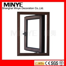 top grade security design glass windows aluminum frame glass window