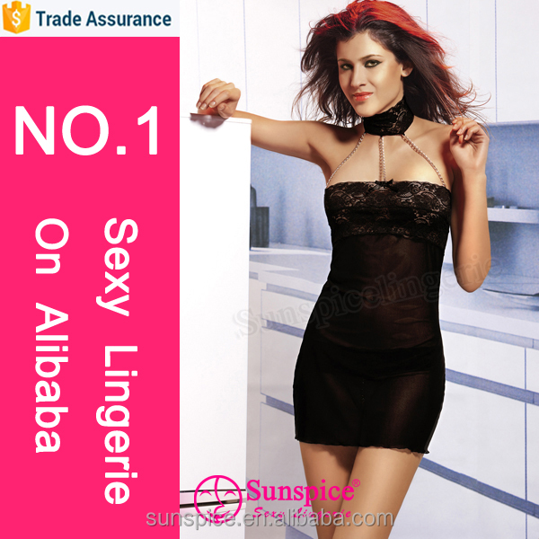 Sunspice sexy lingerie manufacturer 15 years Experience TOP quality hot sexy transparent lingerie lady photos