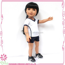 Fashion 2016 plastic small baby craft dolls 18 inch for sale
