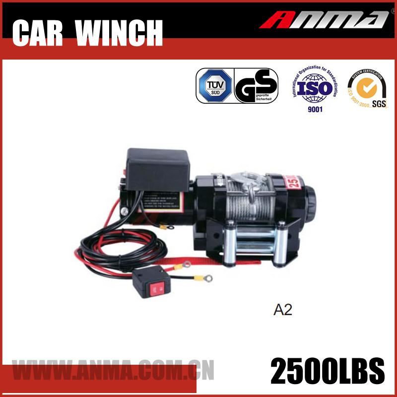 Wholesale 4x4 Manual hoist DMX 3 ton mini 2000 lb 12v electric winch AM7022500A2