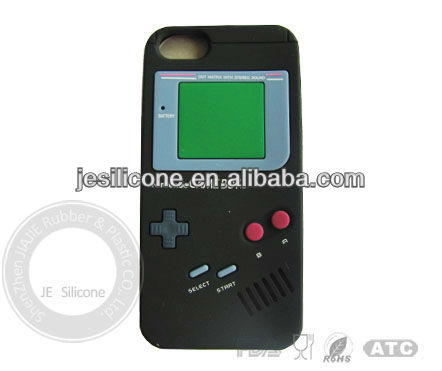 Silicone cell phone case with Game Machine shape