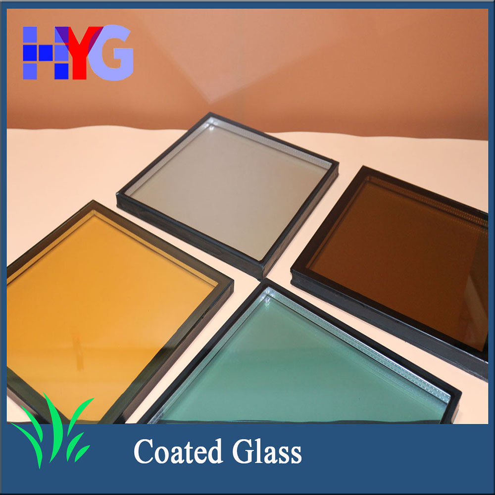 Factory wholesale enrgy saving coated glass wall panels decorative