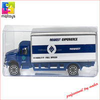 Promotional gift customized metal toy truck die-cast container truck