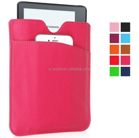 Factory new release leather sleeve two bag leather tablet case for Amazon kindle Oasis 2016