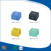 Decorate open top abs/pp plastic car tissue boxes household/hotel napkin paper holder
