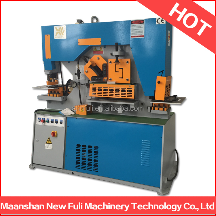 Q35Y Series Steel iron worker machine, ironworker, hydraulic iron worker