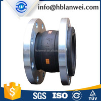 Carbon steel flange connect Flexible large diameter expansion Rubber joint