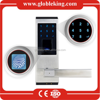 Stainless steel Fingerprint security door lock biometric security door lock biometric door lock with Touch screen and IP65