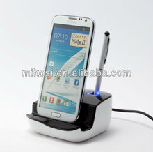 Mikosi Data Sync Charging Cradle Docking Station for Samsung Galaxy S4 IV i9500 S3 i9300 Note 2 N7100