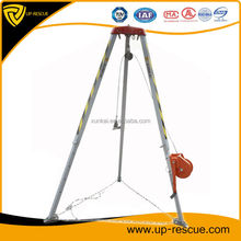 Multipurpose safety tripod safety tools afety aluminum rescue tripod