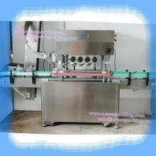 Low price professional shower gel bottles capping machine